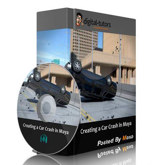 خرید آموزش مایا Creating a Car Crash in Maya | Pluralsight