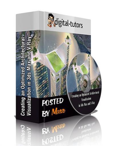 خرید آموزش رندر صحنه های بزرگ 3dmax بدون مشکل 3ds max vray