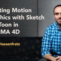 آموزش Creating Motion Graphics with Sketch and Too in CINEMA 4D