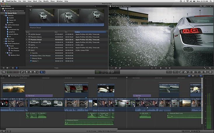 آموزش اصلاح رنگ فیلم نرم افزار فاینال کات پرو Final Cut Pro X Guru