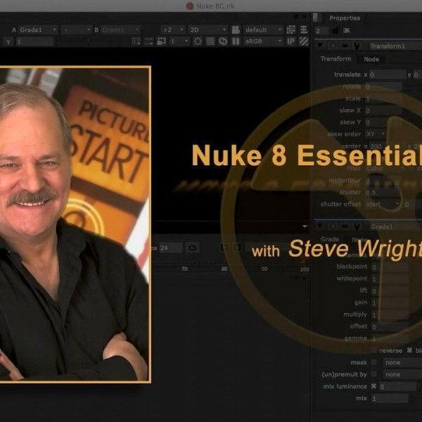 دانلود آموزش Nuke 8 Essential Training course