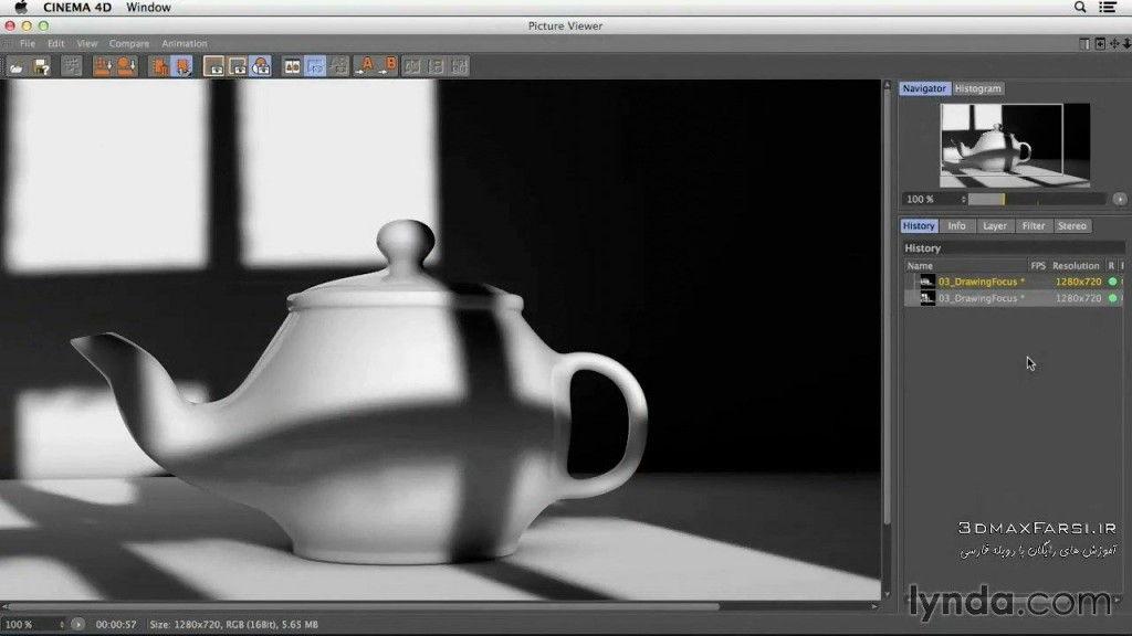 دانلود آموزش تصویری Studio Lighting CINEMA 4D