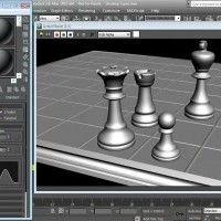 آموزش ساخت متریال و تکسچر تری دی مکس Textures and Materials in 3ds max mental ray