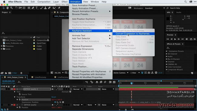 دانلود آموزش After Effects Guru: Keyframe Assistants