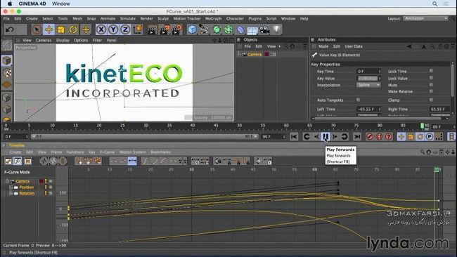 دانلود رایگان آموزش Camera Animation CINEMA 4D