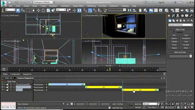 3ds Max 2016 New Features OpenSubdiv برای smoothing کردن منحنی ها