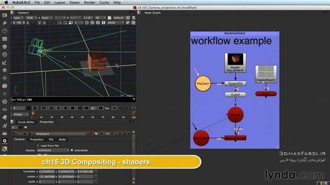دانلود آموزش نوک 3d compositing shaders Nuke 8