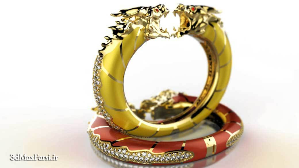 دانلود آموزش Modeling a Bracelet in Rhino and ZBrush