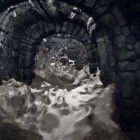آموزش شبیه سازی افکت سیل و جاری شدن آب مایا maya Bifrost system