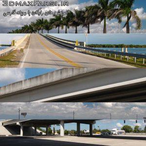 دانلود رایگان تصاویر hdri برای تری دی مکس Dosch HDRI USA Road