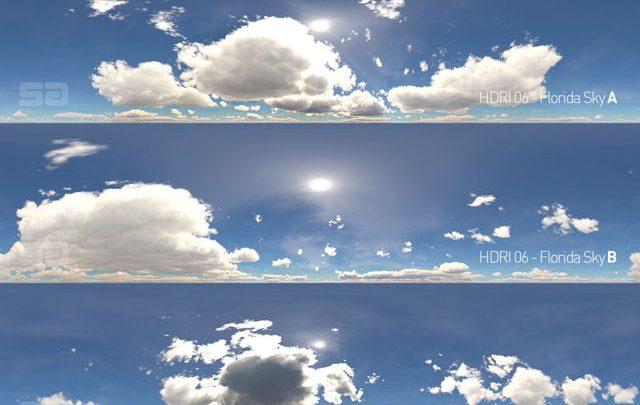 دانلود رایگان فایل HDRI آسمان ابری HDRI Radiant Skies