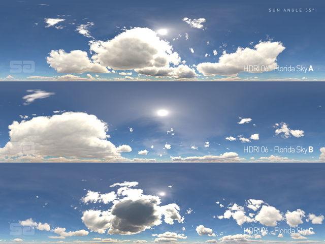 دانلود فایل HDRI آسمان DOSCH – HDRI Radiant Skies