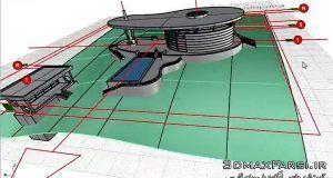 آموزش حرفه ای طراحی مدل سازی معماری سایت پلان راینو Rhino 2016