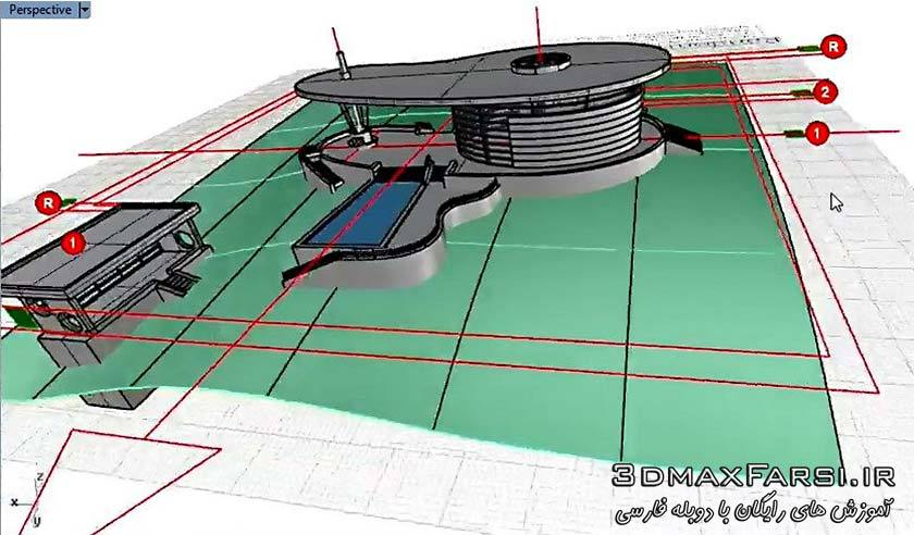 آموزش راینو طراحی و مدل سازی معماری