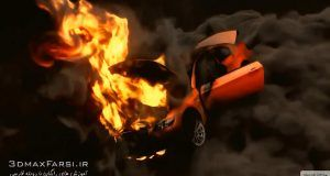 دانلود آموزش Rigging Car Explode CINEMA 4D