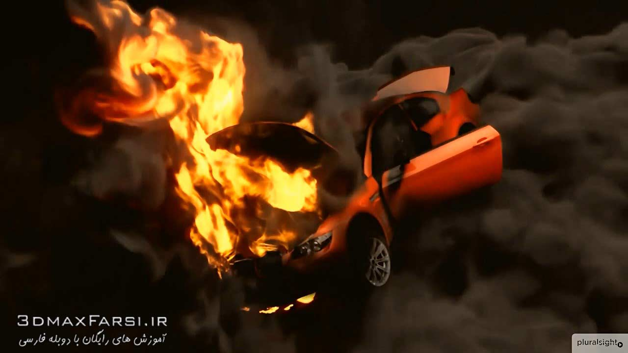 دانلود آموزش Rigging Car Explode CINEMA 4D