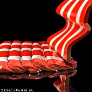آموزش فارسی شبیه سازی مایعات چسبناک RealFlow + Cinema 4D