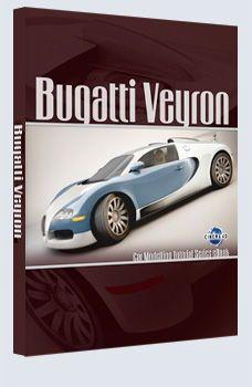 دانلود رایگان کتاب آموزش سینمافوردی Bugatti Veyron - Cinema 4D