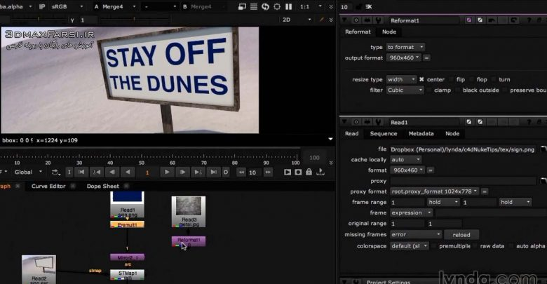 آموزش Cinema 4D Rendering Tips for NUKE