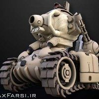 دانلود آموزش Tank Creation CGcircuit cinama 4d vray nuke