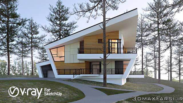 دانلود رایگان آخرین ورژن نرم افزار گوگل اسکچاپ SketchUp Pro 2016
