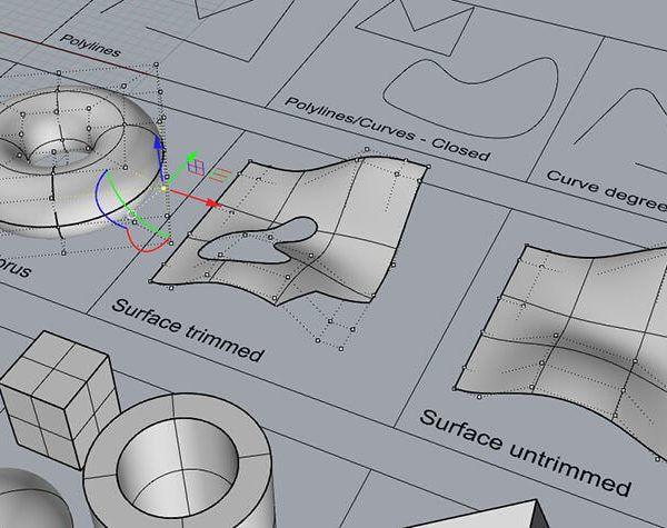 فیلم آموزش طراحی سه بعدی راینو معماری Rhino 3D Modeling