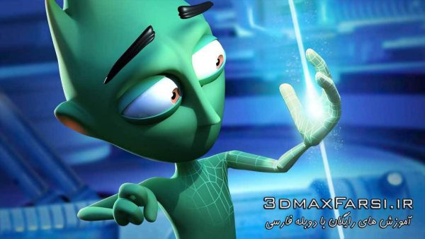 دانلود رایگان آموزش Modeling a Character Animation in 3ds Max