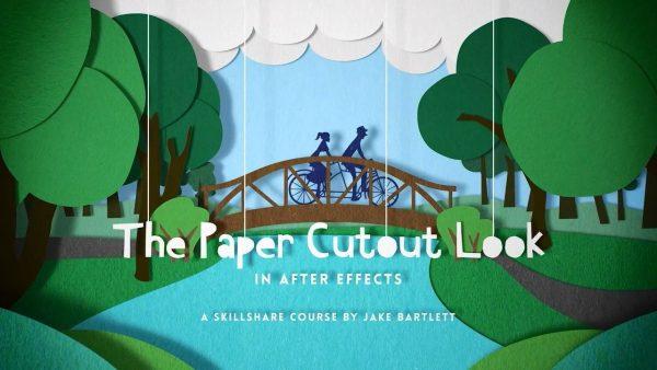 آموزش ساخت انیمشن به صورت کاغذ برش خورده Paper Cutout After Effects
