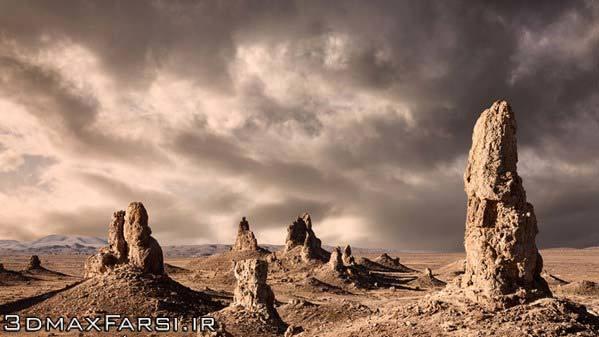 آموزش تغییر بکگراند پس زمینه عکس در فتوشاپ Replacing Sky