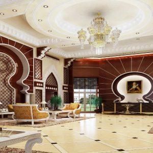 آبجکت صحنه آماده سه بعدی ویری تری دی مکس Global Masterwork - Model Base Of Decoration