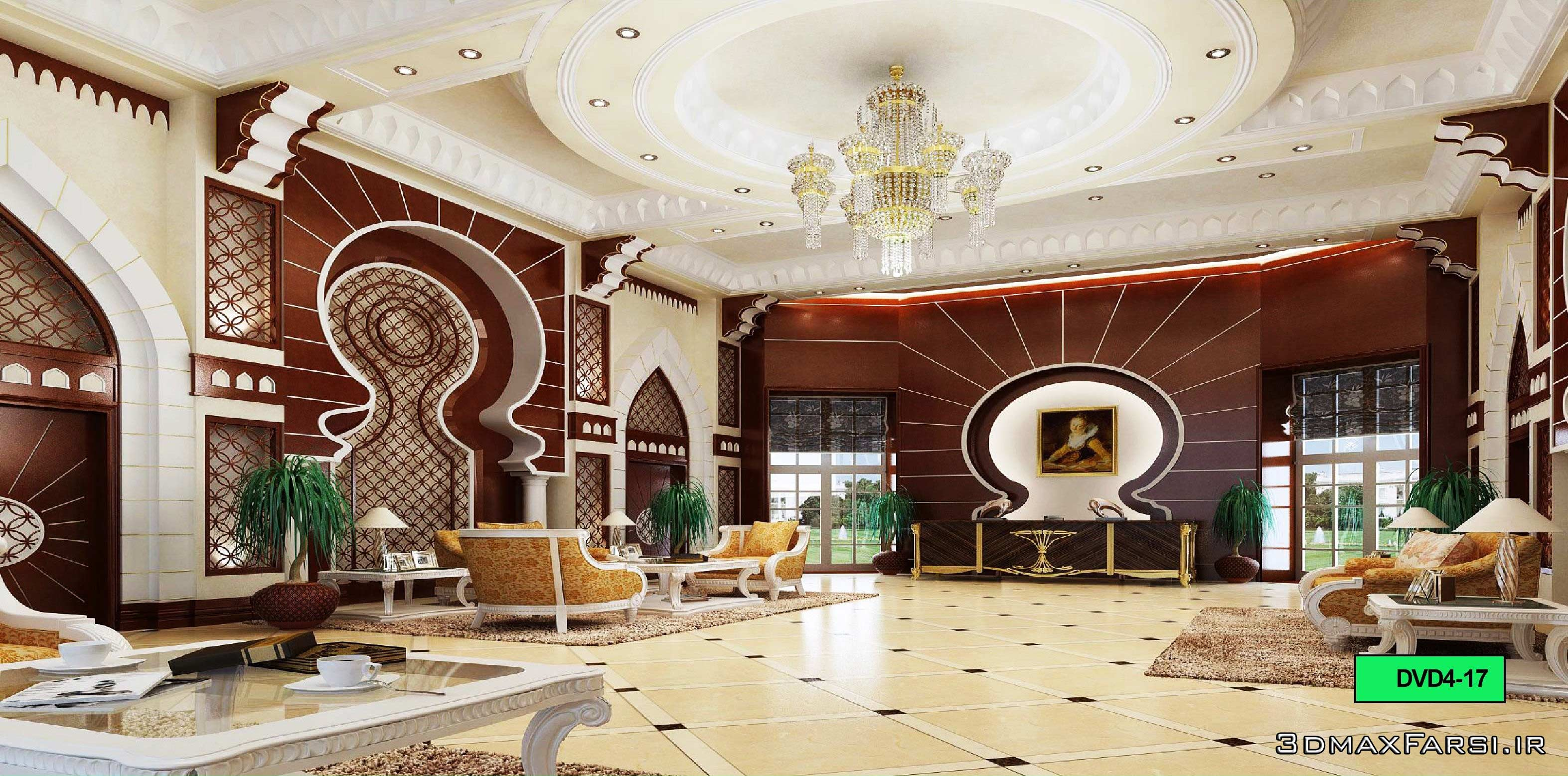 آبجکت جدید مکس ویری Global Masterwork Model Base Decoration
