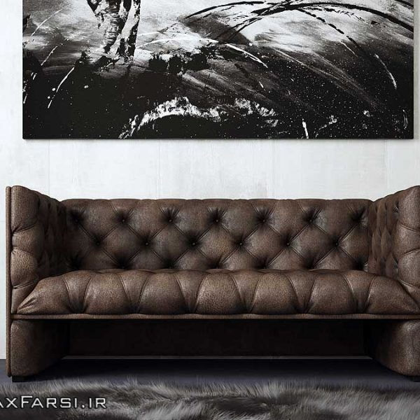 viscorbel sofa ZBrush 3ds max VRay آموزش مدلسازی رندر داخلی معماری