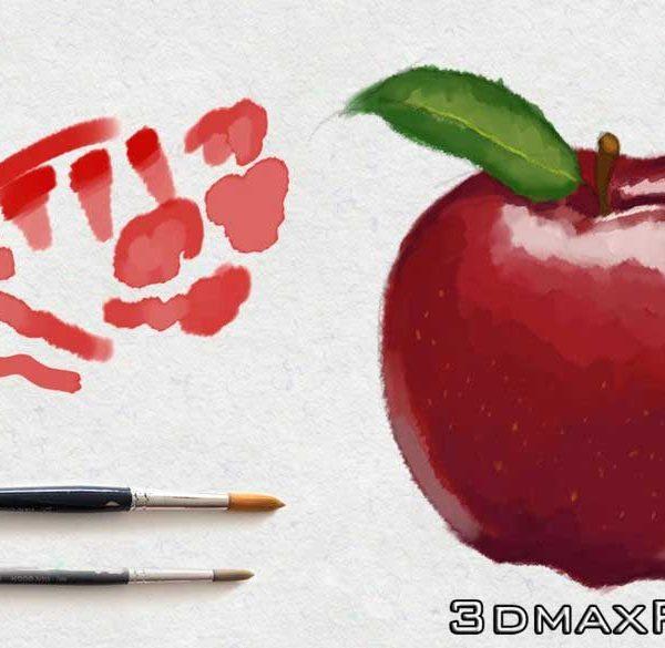 آموزش ساخت براش لود ذخیره قلموی فتوشاپ Brushes Photoshop