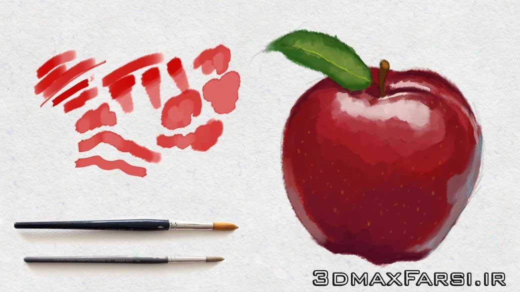 آموزش ساخت براش خلاقانه فتوشاپ Creating Brushes Photoshop
