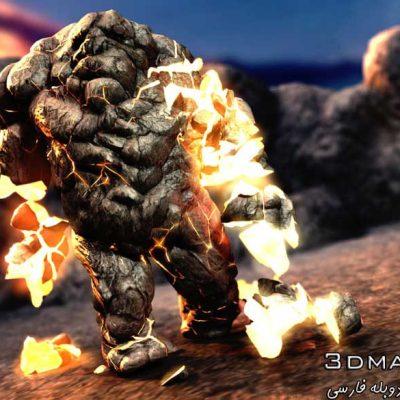 آموزش سیستم دینامیکی مایا تخریب انفجار nCloth dynamics Destruction Maya