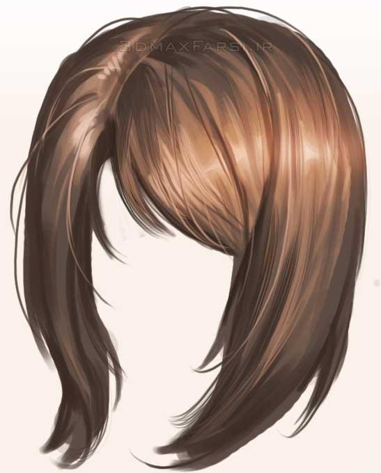 دانلود آموزش تصویری ساخت مو فتوشاپ