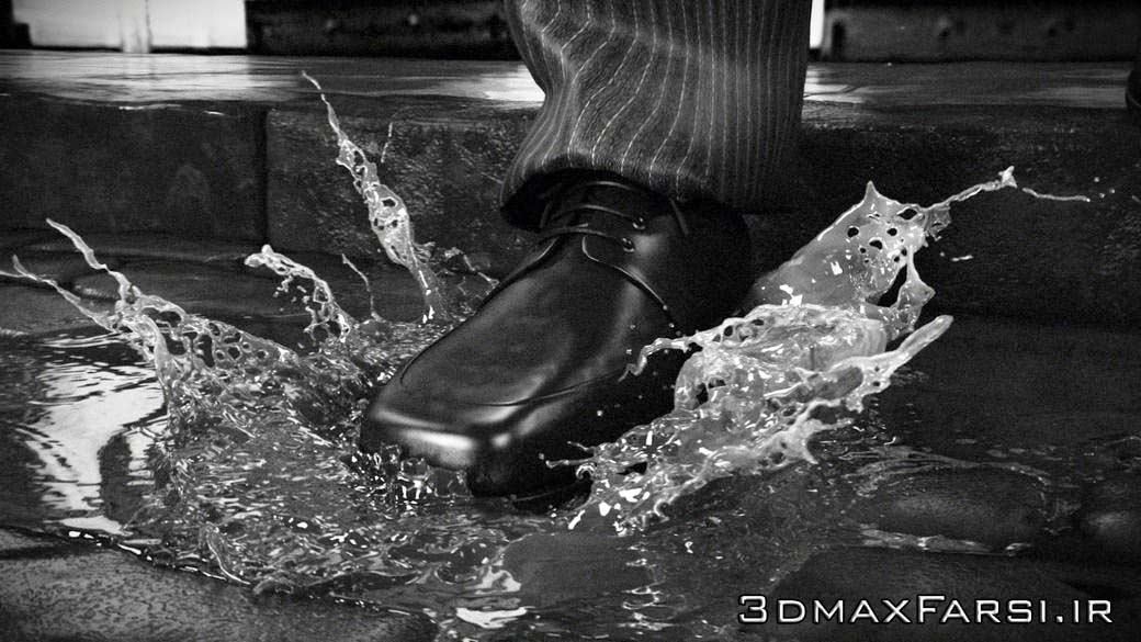 آموزش شبیه سازی پاشیده شدن آب: جلوه ویژه افکت اسلو موشن Slow Motion