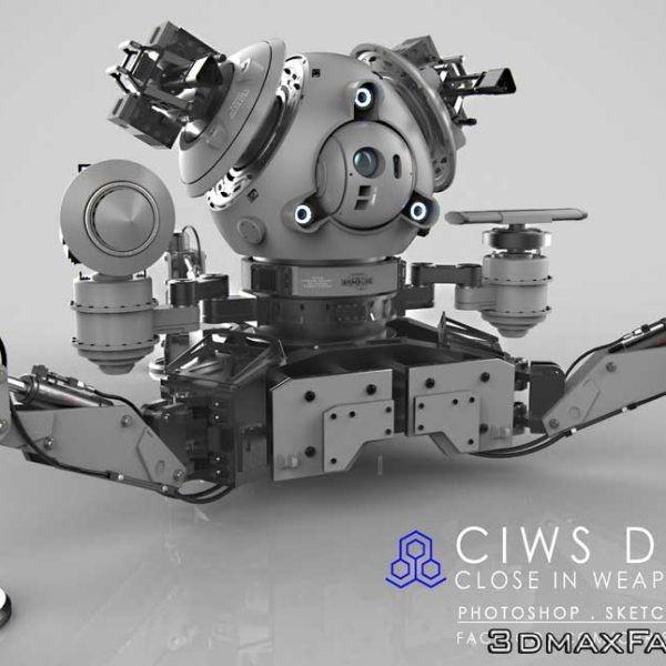 دانلود آموزش Gumroad Mech-Tutorial Remote Weapon System by Chris Rosewarne