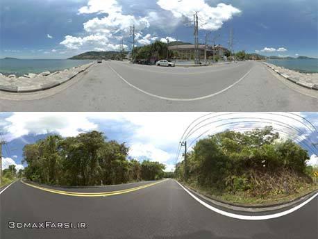 دانلود تصاویر با کیفیت Hdri جاده های آسیا : مخصوص ویری تری دی مکس