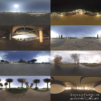 دانلود رایگان HDRI: مجموعه اچ دی آر بگراند ماشین خیابان Car Backgrounds