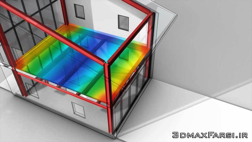 آموزش رویت: تحلیل بار سازه ای ساختمان Revit Structural Analysis