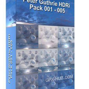 پک کامل فایل HDRI آسمان صاف و ابریSKY HDRi Collection