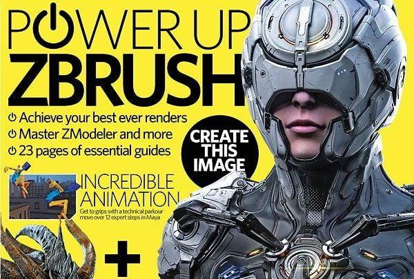 آموزش زیبراش pdf : دانلود رایگان مجله 3D Artist - Issue 93 - 2016