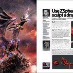 آموزش زیبراش pdf دانلود مجله گرافیکی زیبراش ZBrush 3D Artist Issue 93