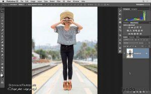 آموزش جامع فتوشاپ فارسی Changing focus Blur Gallery