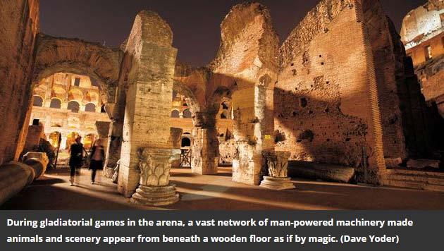 دانلود فیلم مستند معماری کلسئوم Secrets Of The Colosseum