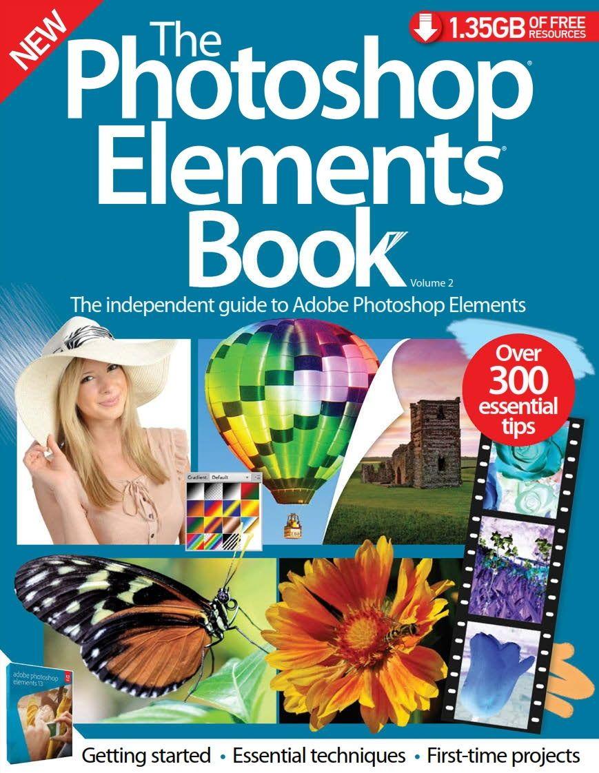 Photo of دانلود رایگان مجله آموزش فتوشاپ Photoshop Elements Book : pdf