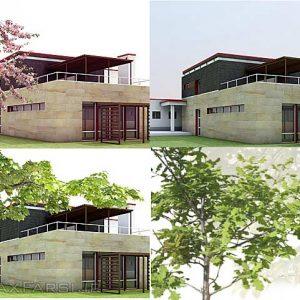 عکس های دو بعدی درخت از نمای نزدیک Dosch Design - 2D Viz-Images Foreground Plants & Trees