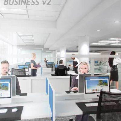 پرسوناژ انسانی برای فتوشاپ تریدی مکس Viz People Business V2
