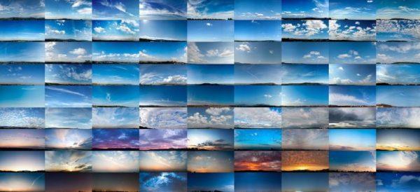 تکسچر با کیفیت آسمان بگراند: دانلود رایگان پکیج کیفیت بالا VizPeople Skies Vol 1